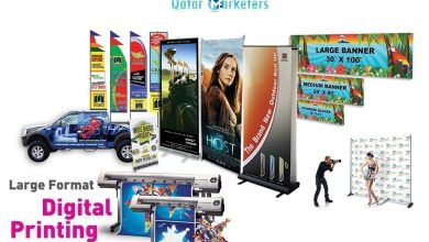 Photo of Wide Format Printing