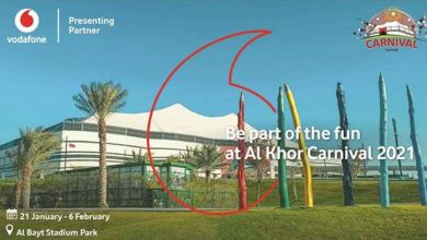 Photo of Vodafone 'Presenting Sponsor' of Al Khor Carnival 2021