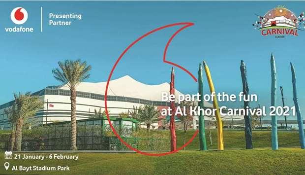 Photo of Vodafone 'Presenting Sponsor' of Al Khor Carnival 2021
