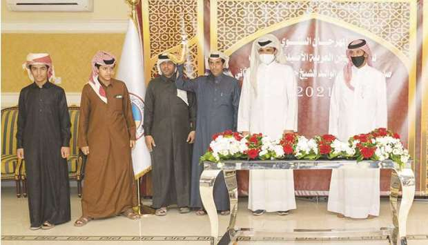 Photo of Sheikh Joaan crowns winners of Day 9 of HH the Father Amir Camel Racing Festival