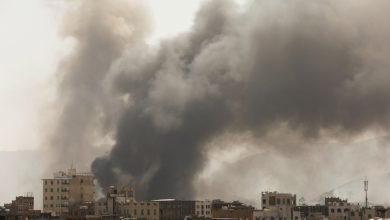 Photo of Saudi coalition launches air raids on Yemen's Houthi-held capital | Houthis News