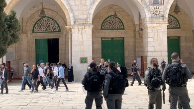 Photo of Israeli forces attack Al-Aqsa protesters during Prophet rally | Middle East News