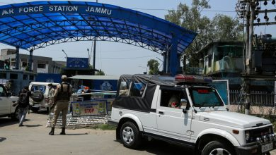 Photo of Indian Air Force base in Kashmir hit by explosions | India News