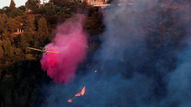 Photo of Israeli firefighters battle blaze near Jerusalem for third day | Environment News