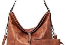 Photo of BROMEN Purses and Handbags for Women Designer Hobo Bag Large Shoulder Bucket Crossbody Purse