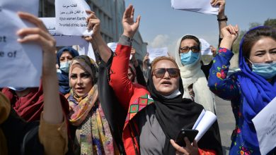 Photo of Women march in Kabul to demand role in Taliban government | Taliban News