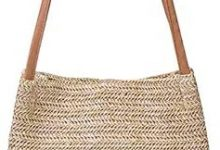 Photo of Aphoraeny Straw Beach Bag Buckets Totes Handbag Shoulder Bag Tote Bag Women Summer Handbag